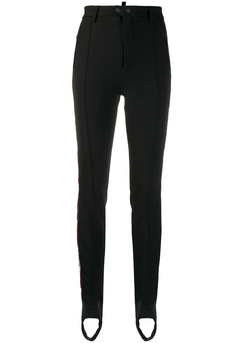 Dsquared2 side logo band trousers