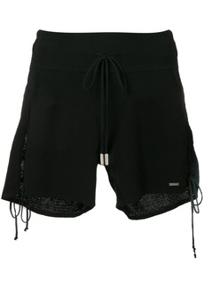 Dsquared2 side tie shorts