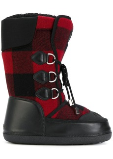 Dsquared2 Ski checked snow boots