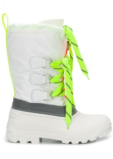 Dsquared2 Ski Fluo Sonar lace-up boots
