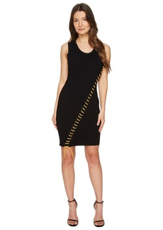 Dsquared2 Skin Biker Sleeveless Dress