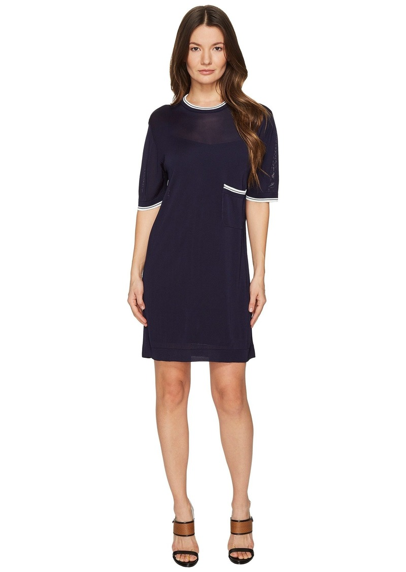 Dsquared2 Skin Hibird Short Sleeve Dress