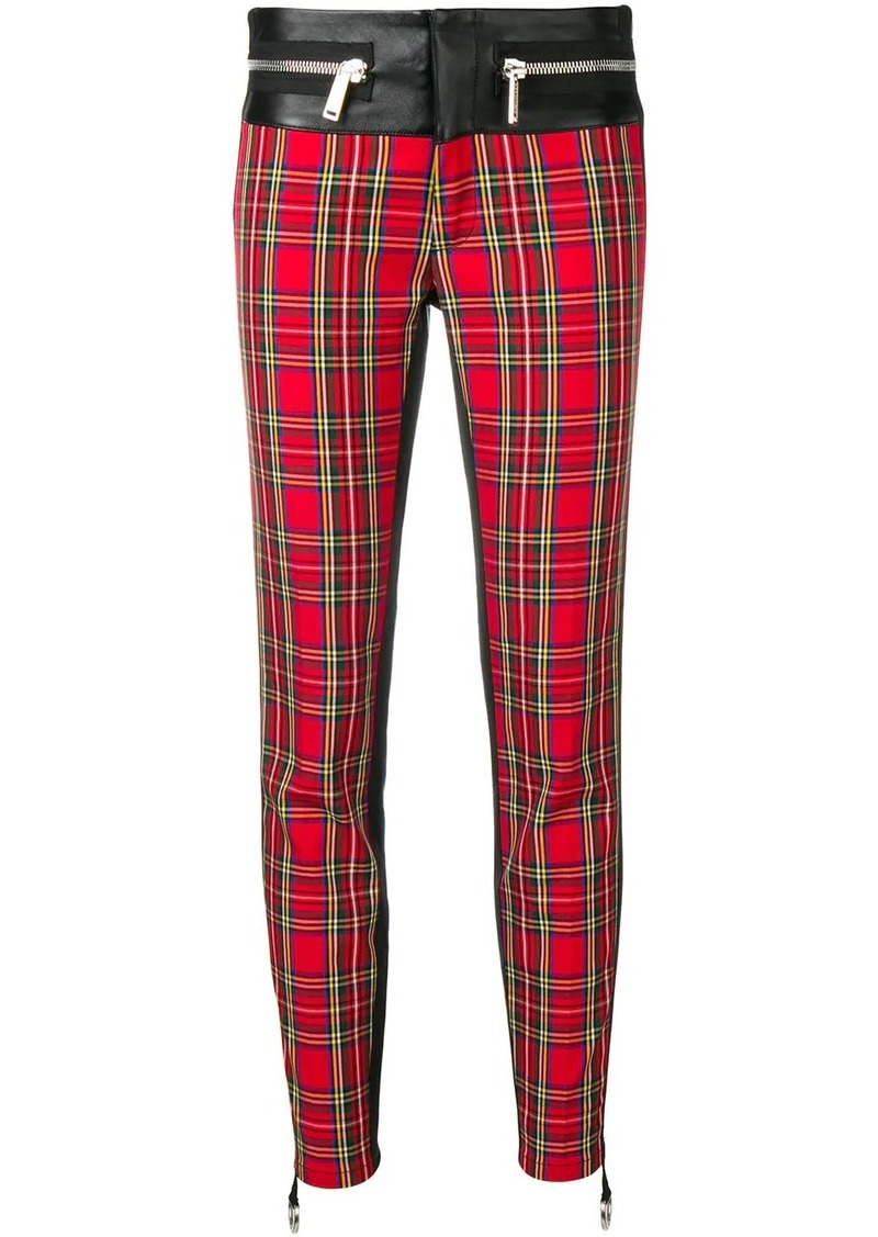 Dsquared2 skinny checked trousers