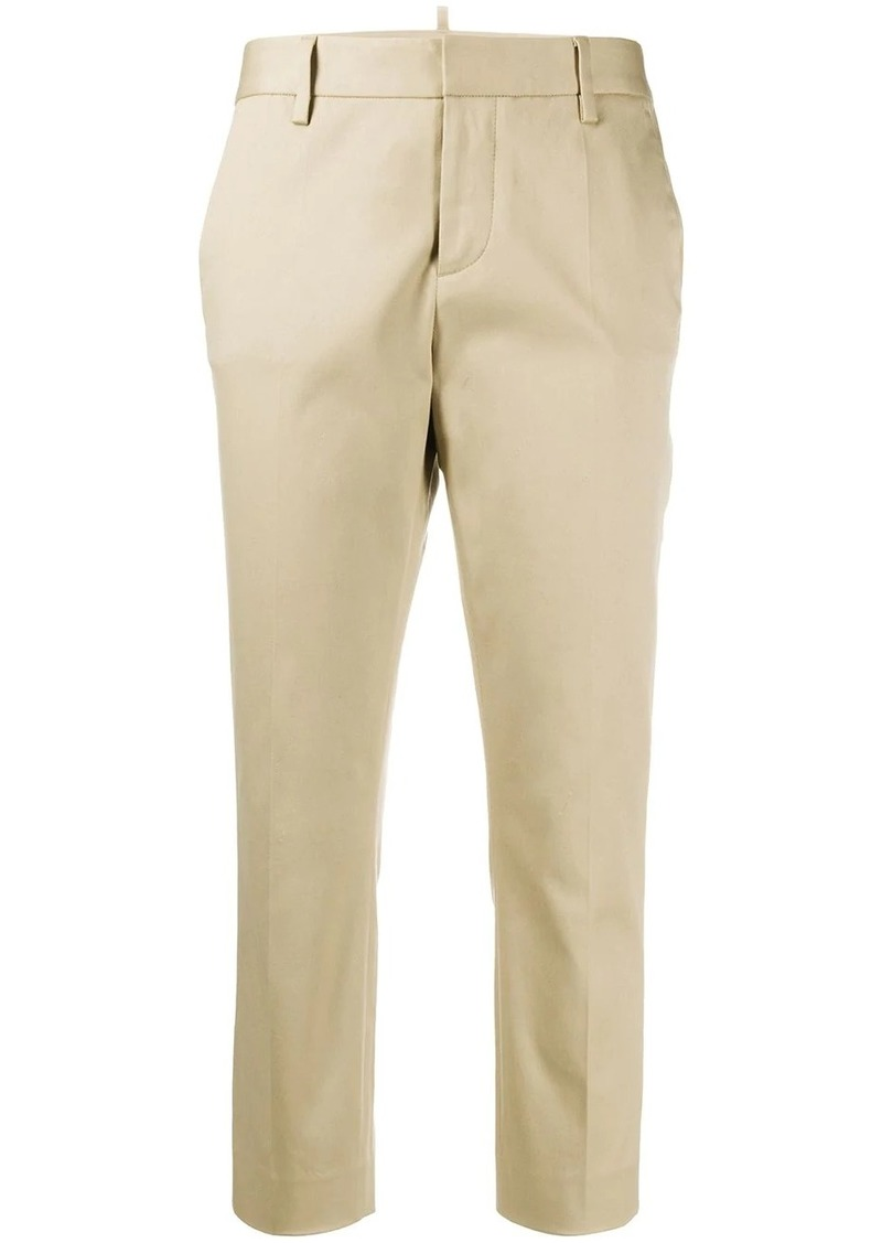 Dsquared2 skinny-fit cropped chino trousers