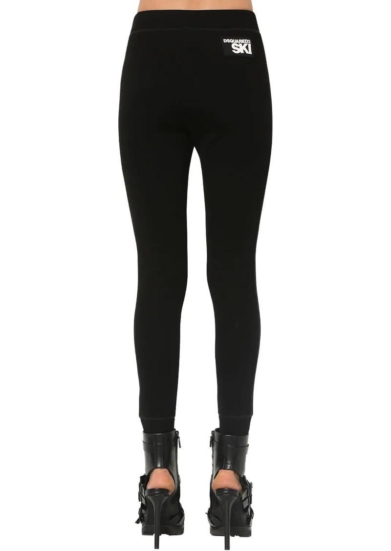 Dsquared2 Skinny Stretch Viscose Blend Pants