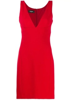 Dsquared2 sleeveless fitted dress