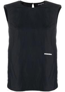 Dsquared2 sleeveless logo top