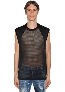 Dsquared2 Sleeveless Mesh T-shirt