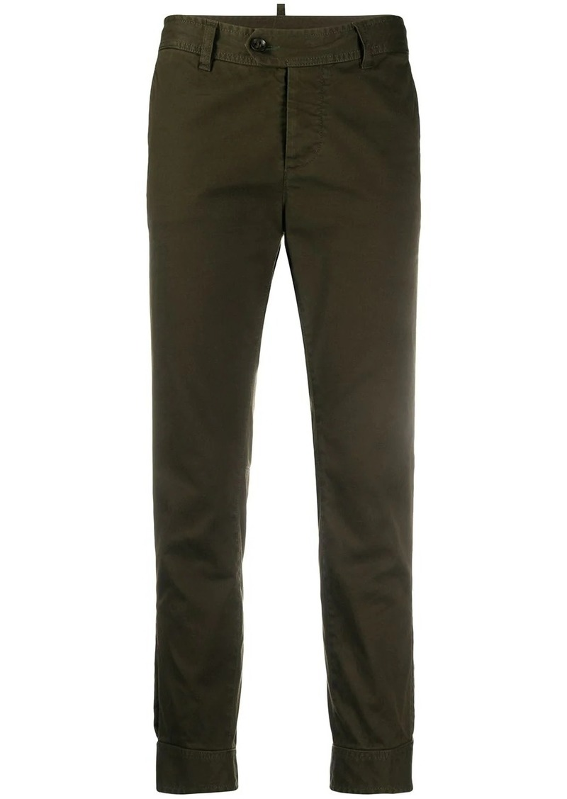 Dsquared2 slim-fit cropped jeans