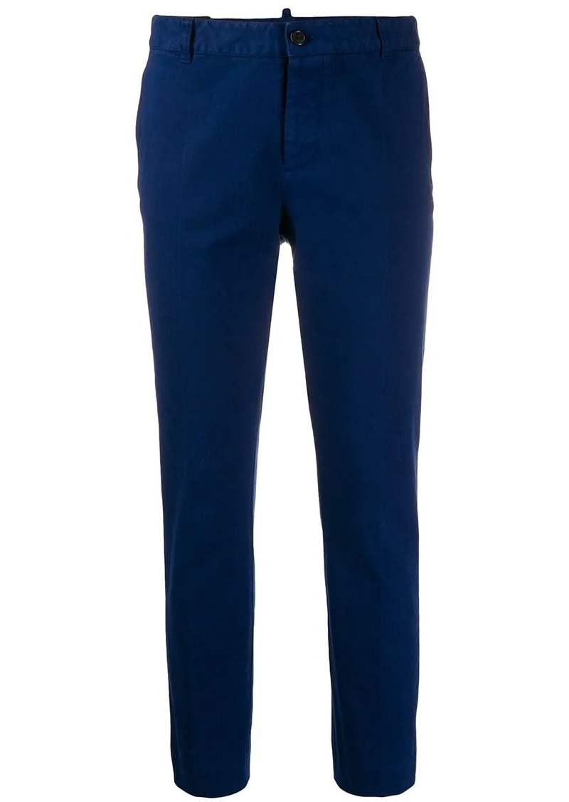 Dsquared2 slim fit cropped trousers