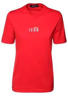 Dsquared2 Small Icon Logo Cotton Jersey T-shirt