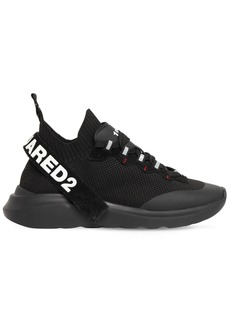 Dsquared2 Speedster Soft Logo Band Knit Sneakers
