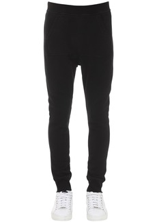 Dsquared2 Sport Fit Cotton Jersey Sweatpants
