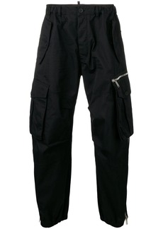 Dsquared2 straight-leg cargo trousers