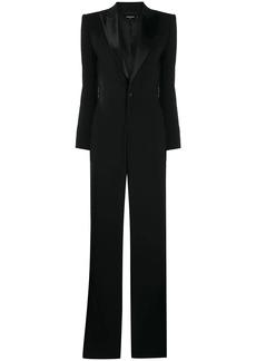 Dsquared2 straight-leg tuxedo jumpsuit