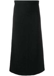 Dsquared2 straight midi skirt