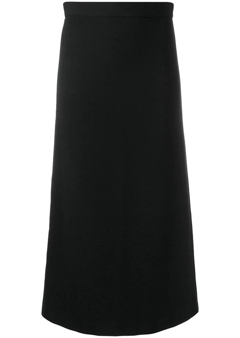 Dsquared2 straight midi skirt
