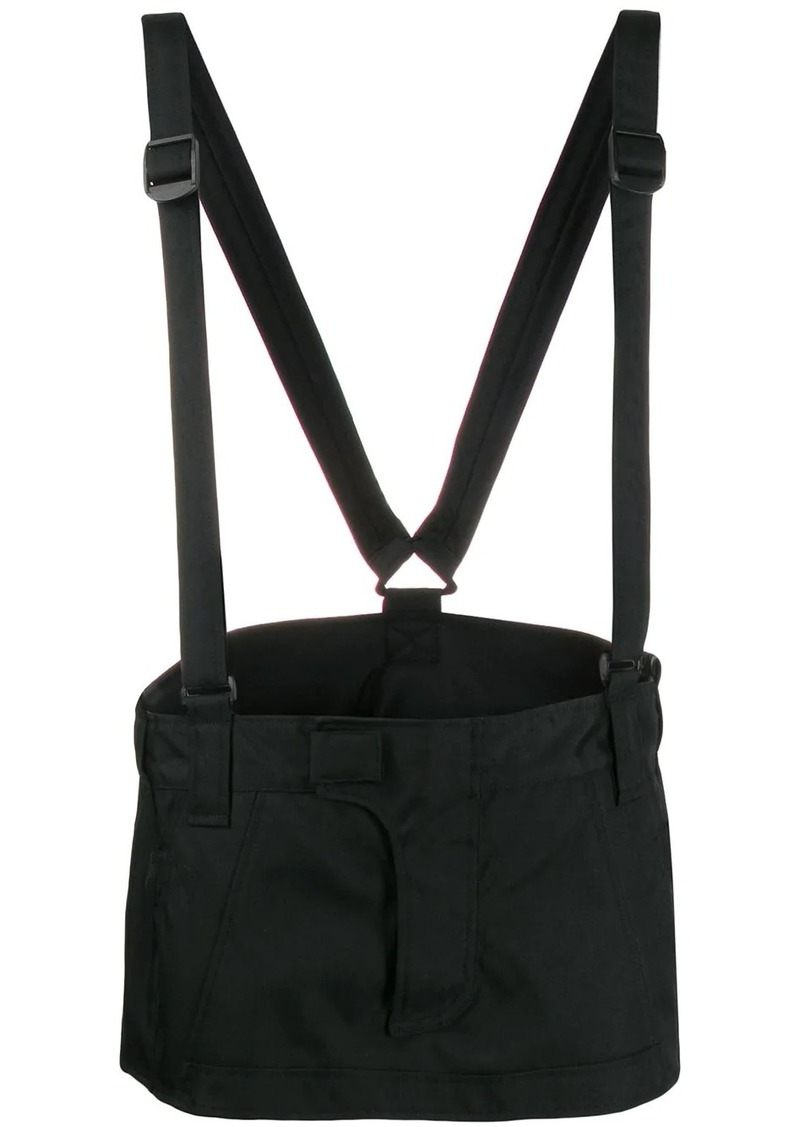 Dsquared2 strap-detail mini skirt
