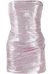 Dsquared2 strapless drape dress