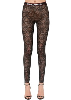 Dsquared2 Stretch Lace Leggings