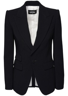 Dsquared2 Stretch Viscose Crepe Suit