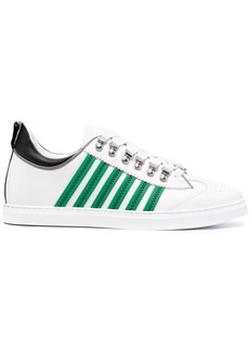 Dsquared2 stripe-detail lace-up sneakers