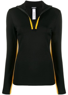 Dsquared2 stripe detail long-sleeved top