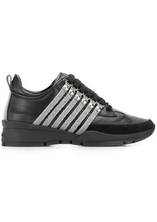 Dsquared2 striped trainers