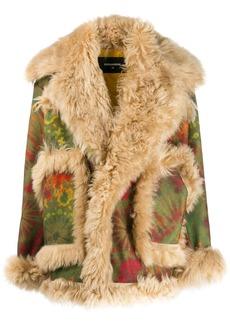 Dsquared2 structured coat