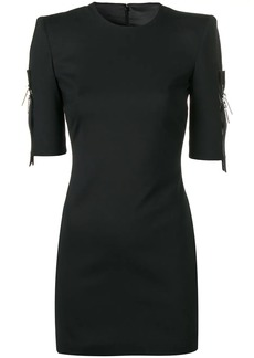 Dsquared2 structured shoulders mini dress