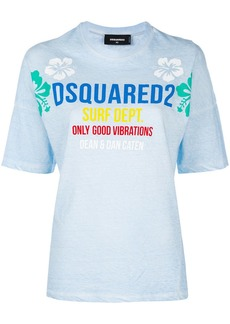 Dsquared2 surf school T-shirt