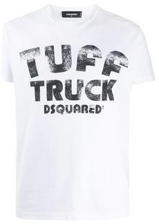 Dsquared2 tuff truck print T-shirt