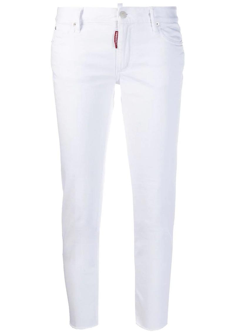 Dsquared2 Taglio Vivo skinny cropped jeans