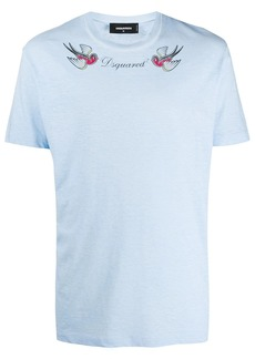 Dsquared2 tattoo-print cotton T-shirt