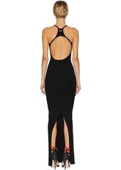 Dsquared2 Technical Knit Long Dress