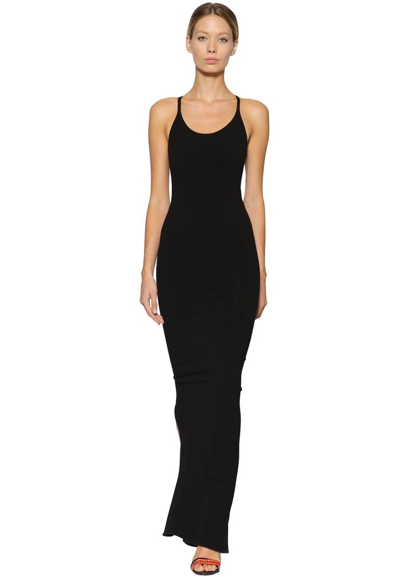 Dsquared2 Technical Knit Long Dress