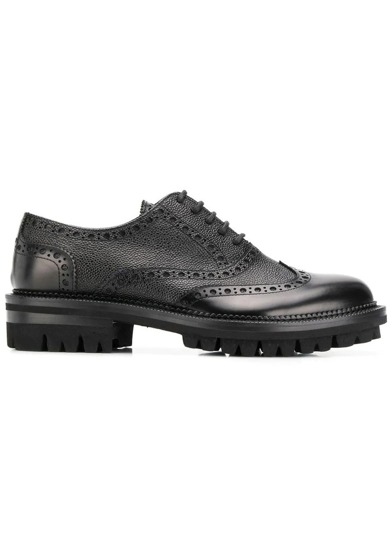 Dsquared2 texture detail brogues