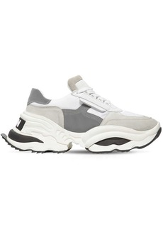 Dsquared2 The Giant Hike Chunky Leather Sneakers