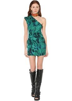 Dsquared2 Tie Dye Crepe Mini Dress