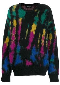 Dsquared2 tie-dye jumper