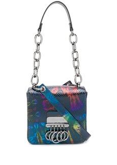 Dsquared2 tie-dye print shoulder bag