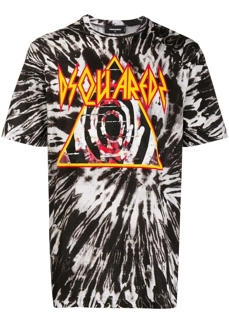 Dsquared2 tie-dye printed T-shirt
