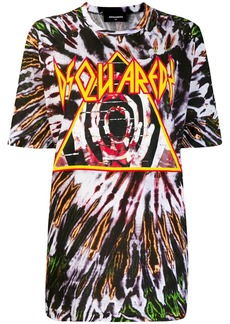 Dsquared2 tie-dye T-shirt