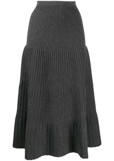 Dsquared2 tiered pleated skirt