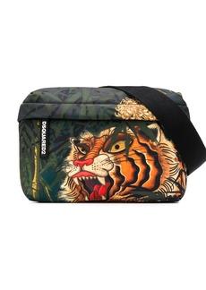 Dsquared2 tiger print belt bag