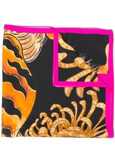 Dsquared2 tiger print scarf