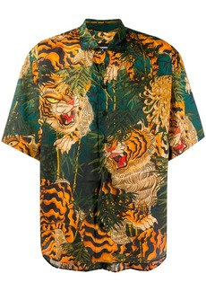 Dsquared2 Tiger print shirt