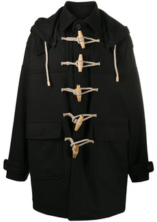 Dsquared2 toggle-fastening coat
