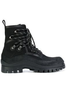 Dsquared2 treaded lace-up boots