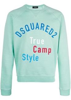 Dsquared2 True Camp Style print sweatshirt